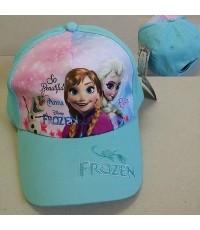 หมวกแก๊ป Frozen Princess เจ้าหญิง หิมะ ขนาดรอบหมวก 22 นิ้ว ด้านหลังเป็นเมจิกเทป ปรับได้ 1-2 นิ้วค่ะ