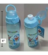 กระติกน้ำ ลาย โดราเอม่อน Doraemon ขนาดสูง 8 นิ้ว เส้นผ่าศูนย์กลาง 2.5 นิ้ว