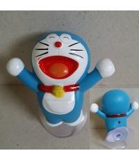 อุปกรณ์ แต่งรถ โดเรม่อน Doraemon ตัวตุ๊กตาติดเสาอากาศรถ หรือติดกระจกรถ ก็ได้ (ดึงตัวจุ๊บติดกระจกออก