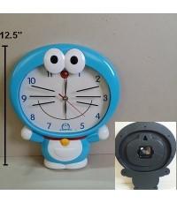 นาฬิกาแขวน สำหรับติดกำแพงห้องค่ะ ขนาด เส้าผ่าศูนย์กลาง 12.5 นิ้ว ลาย โดเรม่อน (Doraemon)