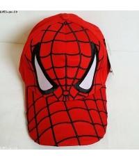 หมวกแก๊ป Spiderman สไปเดอร์แมน ด้านหลังเป็นเมจิกเทป ปรับเพิ่มลดได้อีกประมาณ 1-2 นิ้วคะ ขนาดรอบหมวก 2