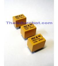 10002 รีเลย์ 6V 6 ขา ของ HKE 1A ขนาดเล็ก 1x1.5x1.2cm