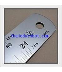 282 ไม้บรรทัด ฟุตเหล็ก 24 นิ้ว ของ KDS (made in Japan)