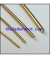 34116 ลวดทองเหลือง  ชนิดแข็ง เส้นผ่าศูนย์กลาง 1.5 mm ยาว 5