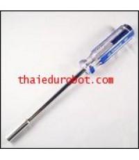 655 ไขควงหัวบล็อก หกเหลี่ยม ใช้กับ nut ขนาด 3 mm.