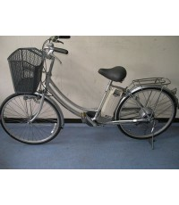 จักรยาน ไฟ้ฟ้า yamaha hybrid มือ2 จาก ญี่ปุ่น มอเตอร์ในดุม 2เกียร์ แรงๆ  ไฟ ธรรมดา