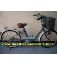 """จักรยาน ไฟ้ฟ้า yamaha classic hybrid system มือ2 จาก ญี่ปุ่นล้อ26\""""รับประกัน3เดือน2ระบบไฟหน้า C"""