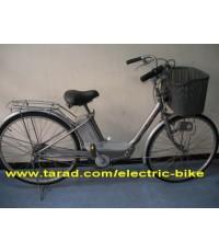"""จักรยาน ไฟ้ฟ้า yamaha hybrid system มือ2 จาก ญี่ปุ่นล้อ 24""""รับประกัน 3 เดือน2ระบบ ไฟCATEYE"""