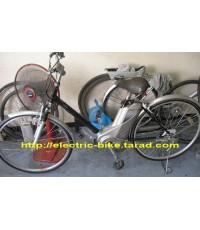 จักรยาน ไฟ้ฟ้า yamaha  มือ2 แปลงแล้วไม่ต้องปั่นล้อ26\quot;รับประกัน5เดือนไฟหน้า CATEYE