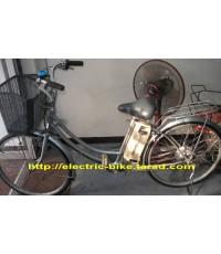 จักรยาน ไฟ้ฟ้า yamaha hybrid มือ2 จาก ญี่ปุ่น มอเตอร์ในดุม แรงๆ แปลงแล้วไม่ต้องปั่น ล้อ 24