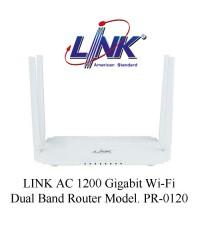 LINK AC 1200 Gigabit Wi-Fi Dual Band Router Model. PR-0120