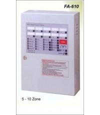 5 Zone Fire Alarm control Panel รุ่น FA-605 ยี่ห้อ Cemen มาตรฐาน CE