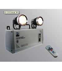 ไฟฉุกเฉิน LED พร้อมรีโมทควบคุม ขนาด 50w x 2 ,7.8AH,12V รุ่น LD-215 ยี่ห้อ Dyno
