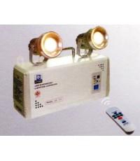 ไฟฉุกเฉิน LED พร้อมรีโมทควบคุม ขนาด 35w x 2 , 7AH,12V รุ่น LD-215 ยี่ห้อ Dyno