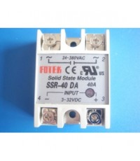 Single Phase Solid State Relay ,Input 80-250Vac,Output 24-480Vac,กระแส 10-25-40A รุ่น SSR-AA Serie
