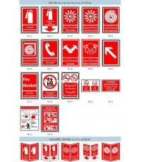 ป้ายป้องกันอัคคีภัย (Fire Equibment Sign)