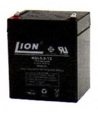 แบตเตอรี่แห้งชนิดตะกั่วกรด  ขนาด 12V-5Ah ยี่ห้อ Lion