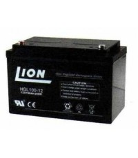 แบตเตอรี่แห้งชนิดตะกั่วกรด ขนาด 12V-100Ah ยี่ห้อ Lion