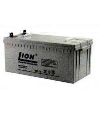 แบตเตอรี่แห้งชนิดตะกั่วกรด ขนาด 12V-200Ah รุ่น ยี่ห้อ Lion
