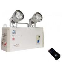 ไฟฉุกเฉินหลอด LED ขนาด 9wx2 แบตเตอรี่ 12V-7Ah สำรองไฟ 4 ชม. รุ่น LD-111 ยี่ห้อ Dyno