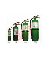 ถังดับเพลิง ใช้ดับไฟ class A,B,C ชนิดน้ำยาฮาโลตรอน (Halotron) ยี่ห้อ FireMan