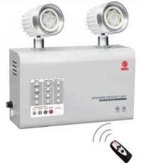 ไฟฉุกเฉินหลอด LED 2x6W ระบบไมโครคอนโทรลเลอร์ สำรองไฟ 5 ชม.รุ่น MCU206NC5LED ยี่ห้อ Sunny