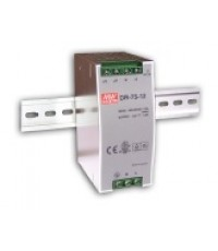 75W Single O/P 12V Industrial DIN Rail Power Supply รุ่น DR-75-12 ยี่ห้อ Meanwell