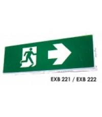 Emergency Exit Sign Light BOX รุ่น EXB-222 30ED ยี่ห้อ MAXBRIGHT (2017)