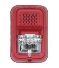 ไฟกระพริบ (Strobe) Horn Strob 2-Wire, Compact, Red รุ่น P2GRL ยี่ห้อ SYSTEMSENSOR