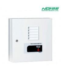 ตู้แจ้งสัญญาณเพลิงไหม้ ติดผนัง รุ่น FIPN203-S-5L, 5 Zone ยี่ห้อ NOHMI (2018)