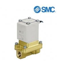 SMC Solenoid Valve ,2 port , NC, 24 V dc, 1 Inch. Model. VXZ262KGA