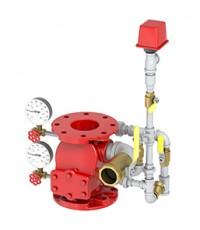 วาล์วสำหรับระบบดับเพลิง ตรวจสอบเตือนไฟไหม้  Alarm Check Valve Model J-1 ยี่ห้อ Viking 4 inch