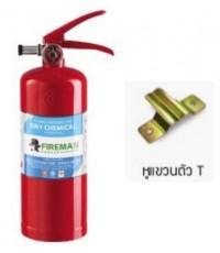 เครื่องดับเพลิงเคมีแห้ง Fire Rating 4A-5B ขนาด 15 ปอนด์ ยี่ห้อ FIREMAN มาตรฐาน มอก.332-2537
