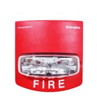 SIMPLEX Non-Addressable Strobe Light 110 CD. RED model.4904-9169