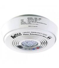 MAXBRIGHT Emergency light LED 1x9 w. Battery 6v-1200 mAh. Back-up time 2 hours. model. CEL609