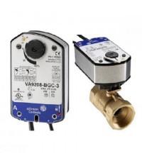 JOHNSON CONTROLS Actuator Proportional ,SR ,24 VAC  Model. VA9208-GGA-1