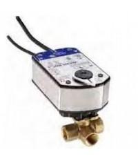 JOHNSON CONTROL Spring Return Actuator for Valves, Floating & ON/OFF, 24 V AC/DC model.VA9208-AGA-1