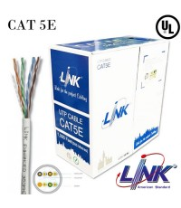 LINK CAT 5E Stranded Patch Cord Cable (Indoor)  LSZH ,UL 305 m./Box Model. US-9025LSZH