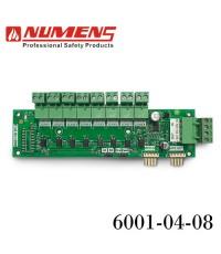 NUMENS Remote LED Display Card เชื่อมต่อตู้แผนผังแสดงจุดเกิดเหตุเพลิงไหม้ 8 โซน รุ่น 6001-04-08