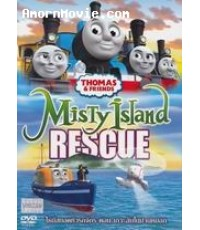 Thomas  Friends Misty Island Rescue โธมัสยอดหัวรถจักร ตอน เกาะลับในม่านหมอก 1 DVD