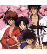 Rurouni Kenshin / ซามูไรพเนจร  [ภาค 1+ภาค 2]  6 แผ่นจบ [พากย์ไทย] Master