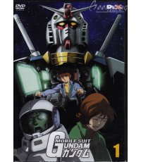 Mobile Suit Gundam โมบิลสูท กันดั้ม Vol.1-11 11 DVDจบ Master [พากย์ไทย+บรรยายไทย]