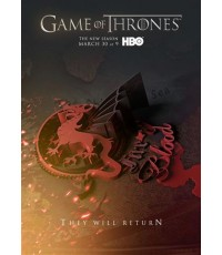 Game of Thrones Season 4 : มหาศึกชิงบัลลังก์ ปี 4  =  5 DVD [บรรยายไทย] Master Zone 3