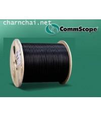 """สายนำสัญญาณ """"Comm Scope"""" RG-6 สีขาว/ดำ ชิลด์ 60%  305เมตร/ขด"""