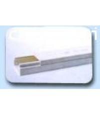 EURODUCT รางมินิทั้งกิ้งสำหรับตกแต่ง เบอร์ 1225 สีขาว ยาว 2M