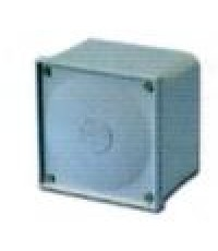 กล่องพักท่อร้อยสายไฟพีวีซี (สีเทา)ขนาด 108x108x76 มม. (สีเทา)