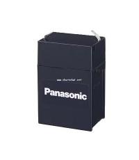 แบตเตอรี่แห้ง 6V 4.5Ah  Panasonic ยาว70 x กว้าง48 x สูง102 x สูงรวมขั้ว108 มม. LC-R064R5