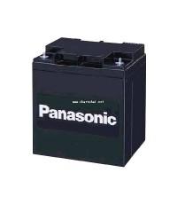 แบตเตอรี่แห้ง 12V 28 Ah Panasonic ยาว165 x กว้าง125 x สูง175 x สูงรวมขั้ว175 มม.  LC-X1228