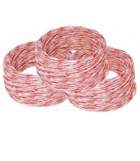 LINK JUMPER WIRE WHITE-RED 2 CORE