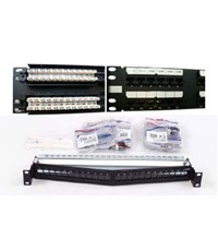 CATEGORY 5E SL SERIES PATCH PANELS